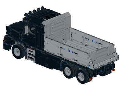 Bauanleitung instruction Magirus Kipper LKW Eigenbau Unikat Moc aus Lego Technic