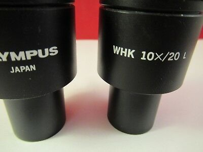 Olympus Japon Oculaire Oculaire Whk 10x/20 Microscope Pièce comme sur Photo # 2
