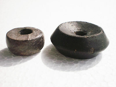 Set 2  ANCIENT RARE  SPINDLE WHORL Goths  2 - 4 century AD