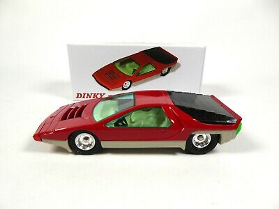 Coffret Collector Alfa Roméo Carabo Bertone DINKY TOYS Voiture Miniature MB101 6