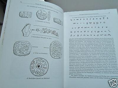 Buchdruck Grafik - 2x Universalgeschichte der Schrift Zeitschriftenlayout (6)