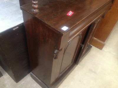 Good William IV Gothic Arch Rosewood Sideboard Buffet Chiffonier CabinetCupboard 11 • £995.00