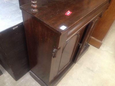 Good William IV Gothic Arch Rosewood Sideboard Buffet Chiffonier CabinetCupboard 11