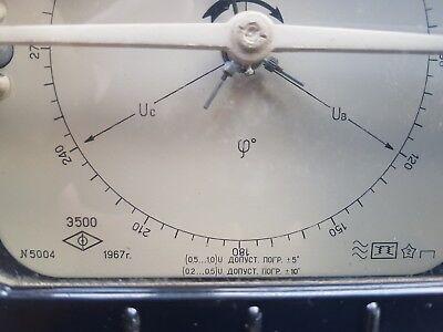 Phase indicator Э-500 VINTAG 1967s VERY RARE  USSR 3