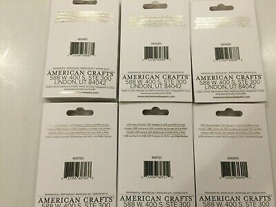 American Crafts We R Memory Keepers Foil Quill USB Drive You Choose NEW 2
