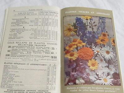 Catalogue Georges Truffaut Automne 1927 + 4 feuillets  bulbes rosiers engrais 7