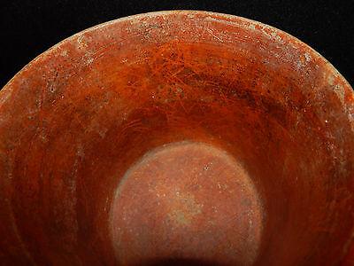 Pre-Columbian Polychrome Three-Footed Mayan Ceramic Pot, Authentic, Rare 5