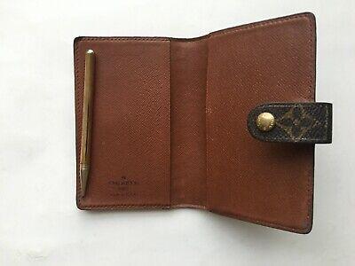 Authentic Louis Vuitton Monogram Mini Agenda & Address With Mechanical Pencil 5