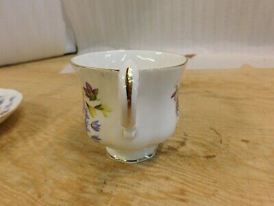 """Paragon, """"flower festival c"""" tea cup with saucer, made in england 4"""