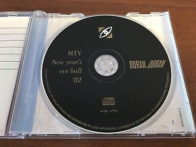 Duran Duran MTV's 2nd Annual New Year's Eve Rock'n'Roll Ball '82 CD w/The Pass 5