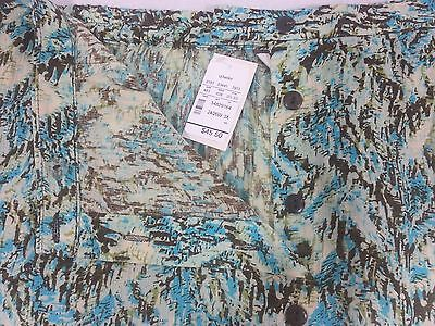 506d8238ebe4c ... NWT Women s X - 3X CJ Banks Plus Size Floral Print Skirts Assorted Blue  Green 5