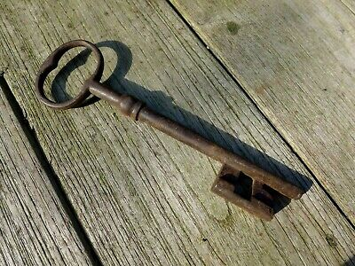 Antique Large Church Castle Home Barn Key Lock Rare Collectable 6
