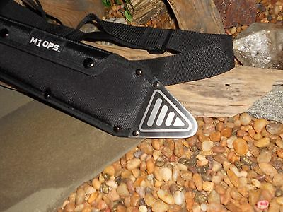 M1 Hellfire/Combat machete/Sword/Bowie/Knife/Full tang/Rubber grip/Survival 9