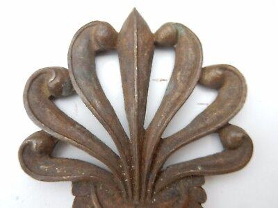 brass finial to restore ART NOUVEAU   design  1890s   brass 4