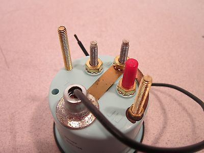 Teleflex Voltmeter 53487, 20-32V, Appears Unused, 6620012853368, Hardware Incl 3