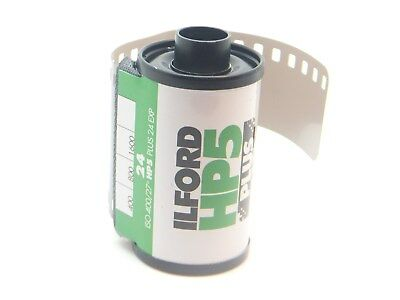 2 x ILFORD HP5 PLUS 400 35mm 24 Exp CHEAP B&W FILM By 1st CLASS ROYAL MAIL 2