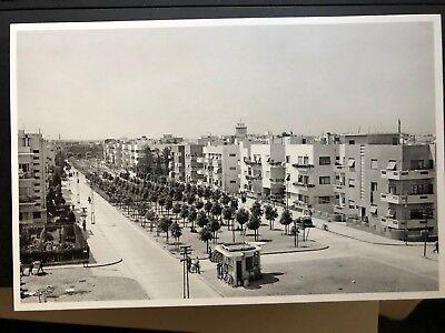 8 Postcards of Tel Aviv, Palestine, Israel -- New Printing -- 1936 - 1959