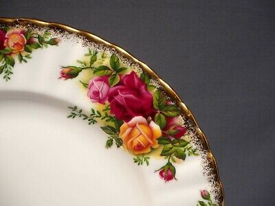 Royal Albert Old Country Roses Luncheon Salad Plate/s Fine China Made in England 3