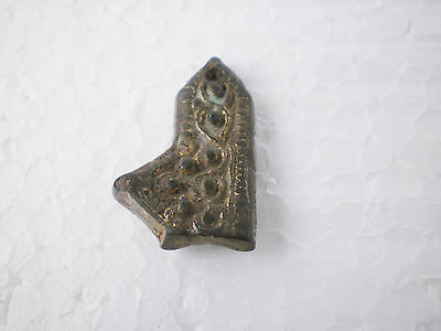 RARE ANCIENT Viking Belt Decoration Belt End   9 - 10 century AD