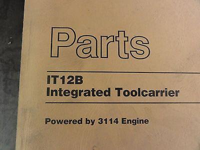 Heavy Equipment Manuals & Books CAT Caterpillar IT28B
