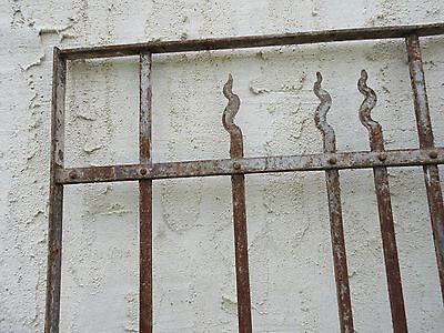 Antique Victorian Iron Gate Window Garden Fence Architectural Salvage Door #66 4