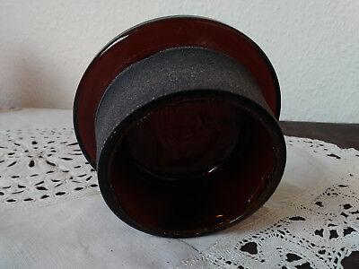 Apothekerflasche;Verschluß;geschl. Glasstöpsel;10 cm, 4