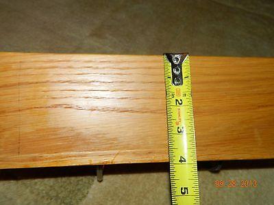 """Vintage Bent Forks Wall Coat Hat Hall Rack Homemade Craftsman 18"""" x 4"""" 4"""