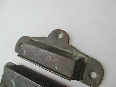 "Georgian Brass Door Lock Keep Antique Victorian Old Sri Lanka Colonial ""Galle"" 4"