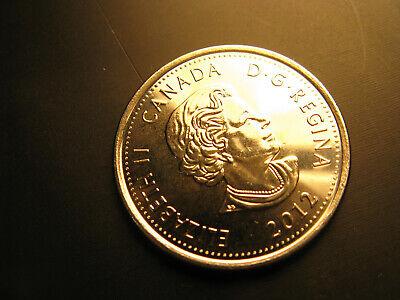 Canada  2012 War Of 1812 Hero Tecumseh  coloured 25 Cent Coin. 2