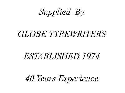 1 x 'REMINGTON RIVIERA' *BLACK* TYPEWRITER RIBBON *MANUAL REWIND + INSTRUCTIONS*