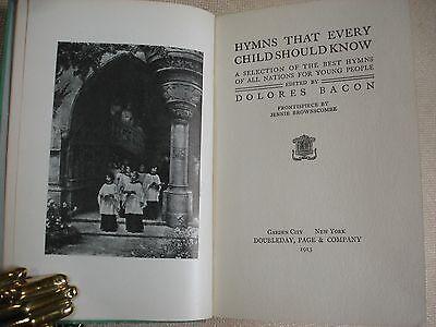 Hymns Every Child Should Know - Ex-libris of Dewitt Mott  - 1913 4