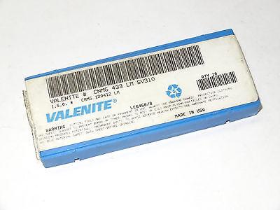 433 A6G VC632 Valenite Carbide Cermet Inserts Qty10 CNMG 120412 A6G LOC2810A