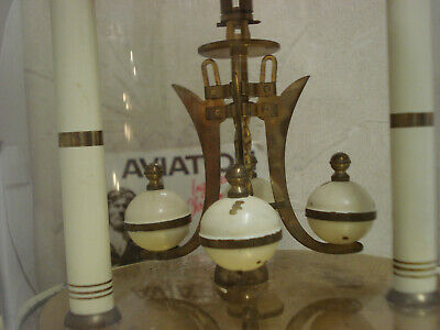 """Day clock 400 Days """" Anniversary """" Complete whit Glass for parts or repair 10"""