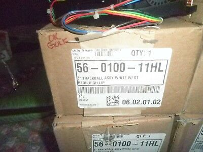 1 Happ 3 Inch Track Ball Used  Tested On Game  Working 30 Day Warranty 2