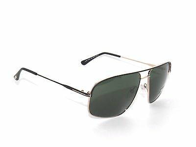 738de8105d33e ... Tom Ford Justin Tf467 Matte Black gold green 02N Sunglasses 467 3