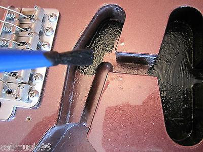 Conductive Graphite Shield Shielding Paint - Reduces Guitar Hum & Buzz 2