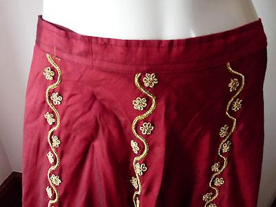 Asian Wedding Red Lengha & Dupatta     (M)  Uk 8/10  Ret £650    Bnwt 4