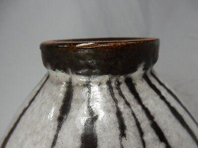 """Rare / seltene 60´s design Carstens Luxus """" Lava """"  Keramik Vase  191 - 23 10"""