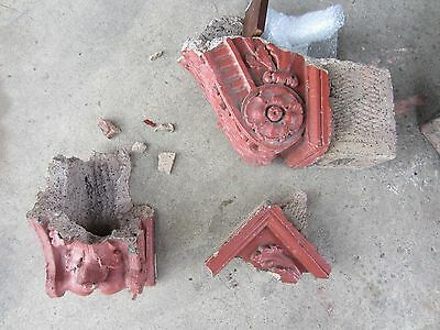 ~ Great Set Of Antique Stone Corbels ~ Architectural Salvage ~ 9