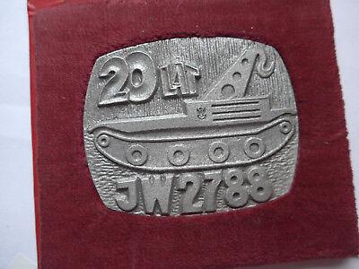 Große Armee Gedenkmedaille Scwimmpanzer --JW 2788-- 1986