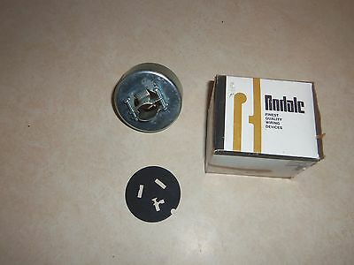 NOS Rodale 1656 Armored Cap 3 Pole 3 Wire 50 Amp