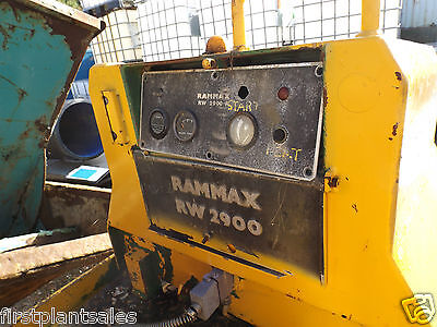Rammax Rw2900 Double Drum Vibrating Sheep Foot Roller euro 1954 Heavy Equipment, Parts & Attachments