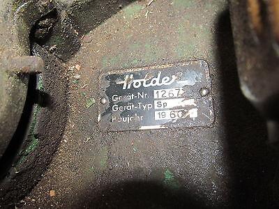 gebrauchter oldtimer Original Holder Spritze Rückenspritze Benzin Motor Bj 1960 5