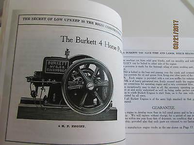 Burkett Manufacturing Gas Engine Hay Press Catalog 2