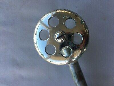 Antique Chrome Brass Sink Toilet Water Supply Shut off Valve Vtg 221-19J 7