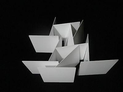 "THIN SQUARE 4.5"" x 4.5"" ALUMINA CERAMIC SHEET SUBSTRATE PLATE SETTER No.: 507 7"