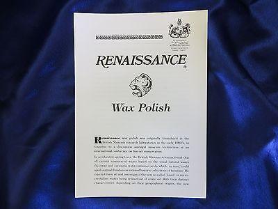 Renaissance Wax - Micro-Crystalline Wax Polish - 65ml (2.25oz) Can 4