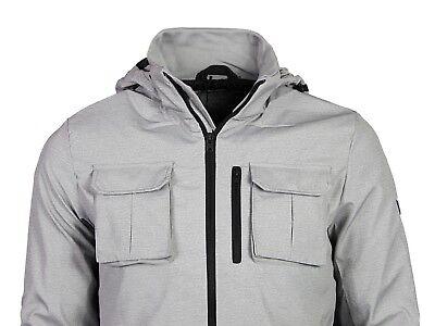 Mens Jacket JACK /& JONES New Harlow Hooded Zip Up Windbreaker Coat