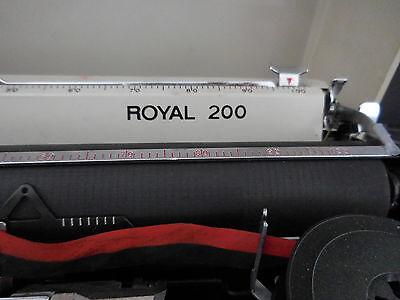 machine à écrire Royal 200 made in Japan CURIOSITY by PN 8
