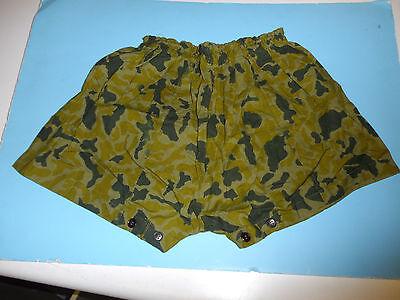 b6815 NVA North Vietnamese Camouflage Uniform Jacket Shorts Cap small pre1975
